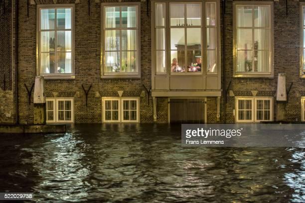 Netherlands, Dordrecht, Flood in Historic Inner City