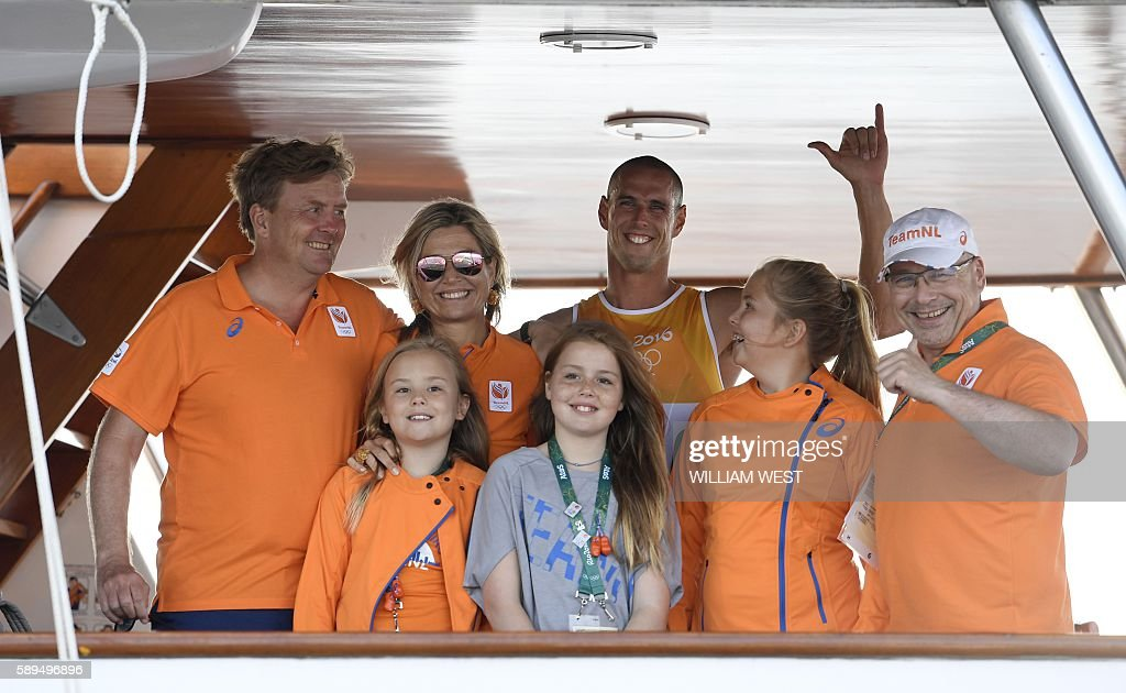 TOPSHOT-SAILING-OLY-2016-RIO : News Photo