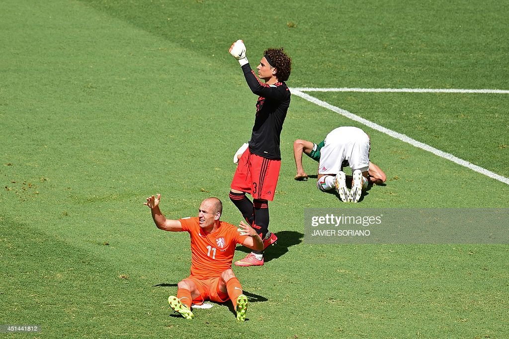 FBL-WC-2014-MATCH51-NED-MEX : News Photo