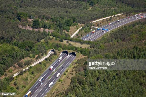 Netherlands, Hoenderloo, Highway And Eco Crossover