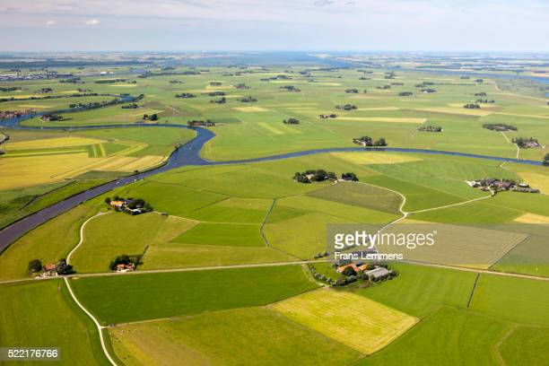 Netherlands, IJsselmuiden, Farms And Farmland