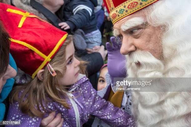 Netherlands, Kortenhoef, Festival of Sinterklaas