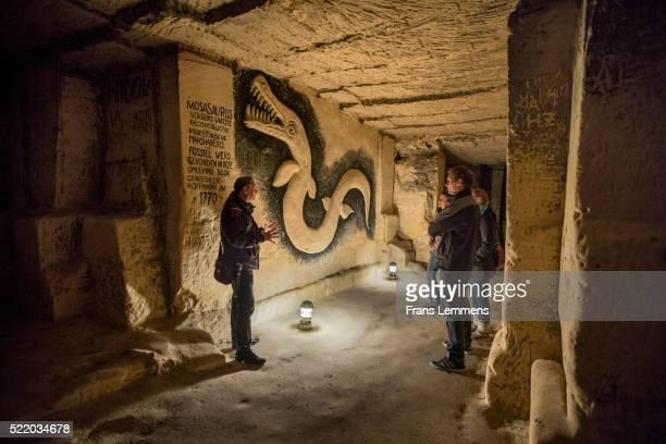 Netherlands, Maastricht, Embossed Drawing in Caves of Sint Pietersburg