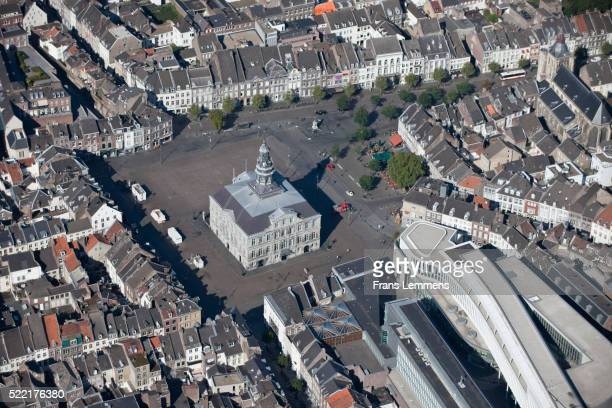 netherlands, maastricht, townhal - town hall stock pictures, royalty-free photos & images