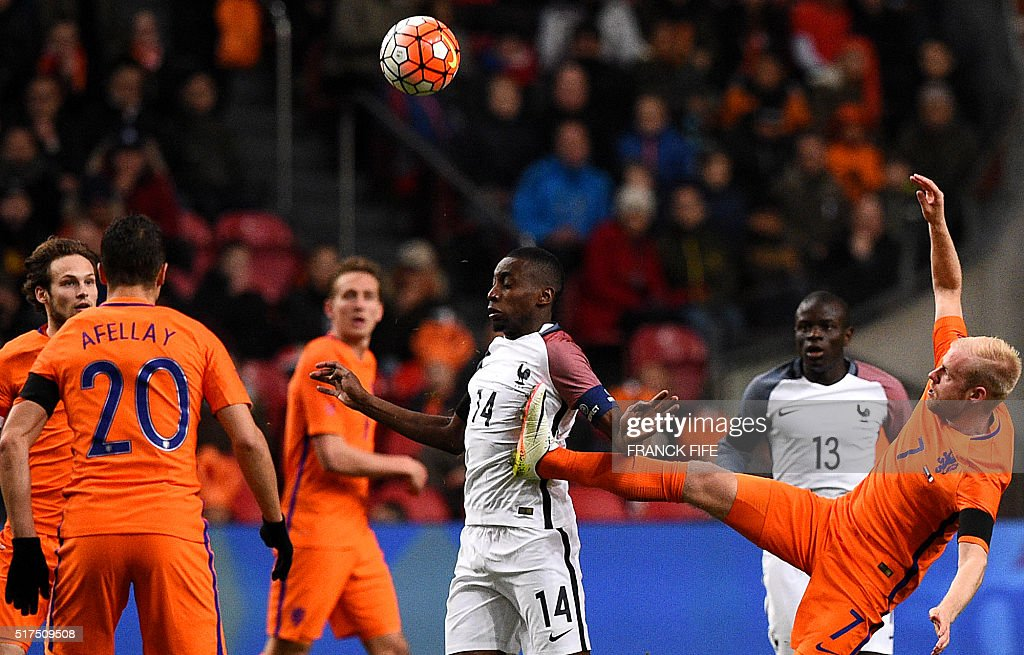 FBL-EURO-2016-FRIENDLY-NED-FRA : News Photo