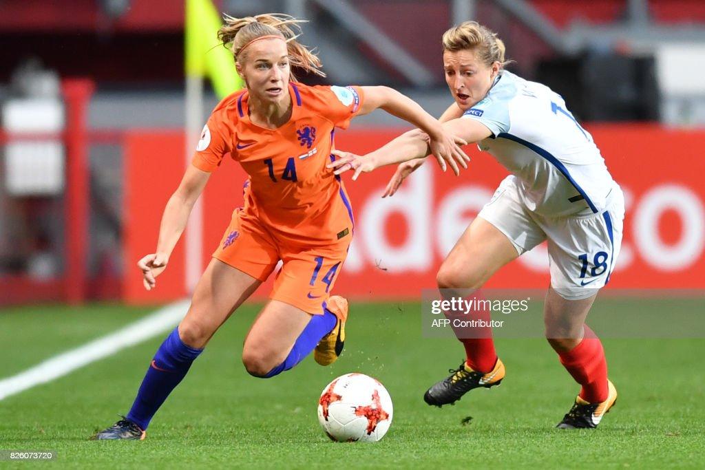 FBL-EURO-2017-WOMEN-NED-ENG : News Photo