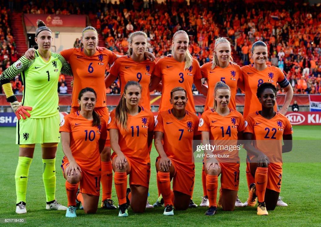 FBL-EURO-2017-WOMEN-BEL-NED : News Photo