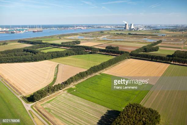 Netherlands, Nieuw Namen, Polder Hertogin Hedwigepolder