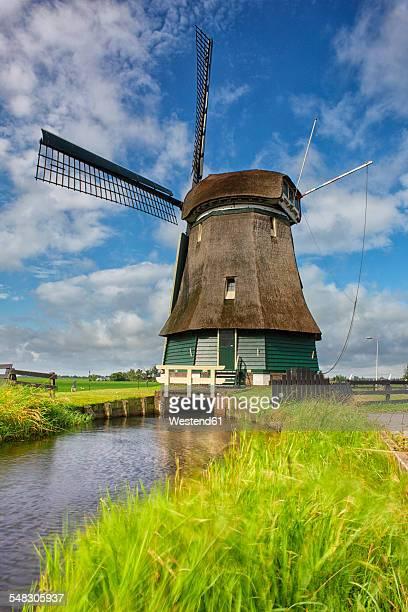 Netherlands, North Holland, Volendam, windmill
