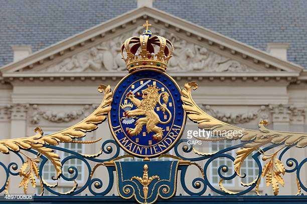 netherlands' official coat of arms - coat of arms stock pictures, royalty-free photos & images