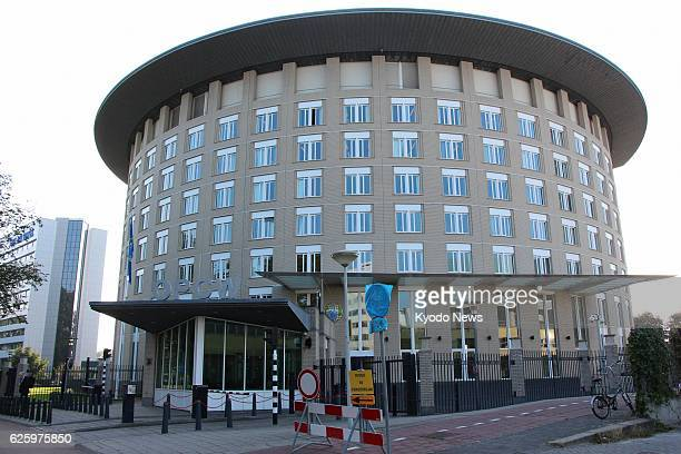 Netherlands - Photo shows the headquarters of the Organization for the Prohibition of Chemical Weapons in The Hague, Netherlands, on Sept. 27, 2013.