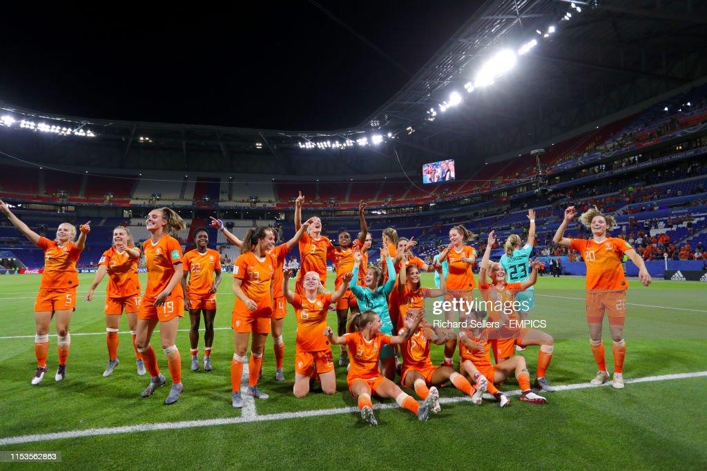 Netherlands v Sweden - FIFA Women's World Cup 2019 - Semi Final - Stade de Lyon : News Photo