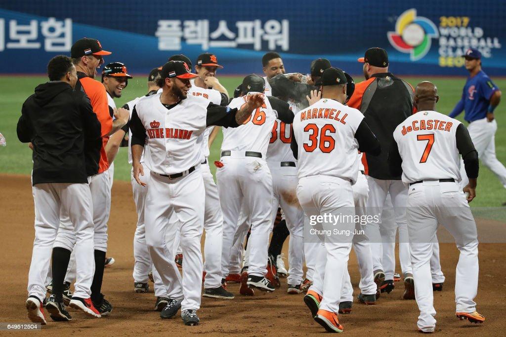 KOR: World Baseball Classic - Pool A - Game 4 - Chinese Taipei v Netherlands