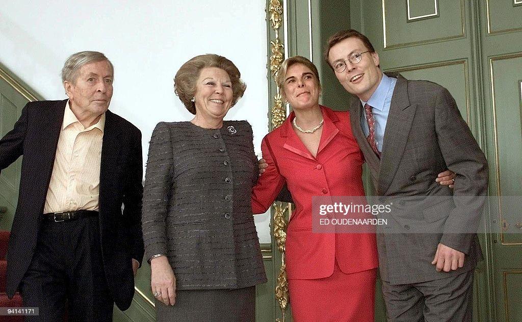 Netherlands Prince Constantijn (R) poses : News Photo