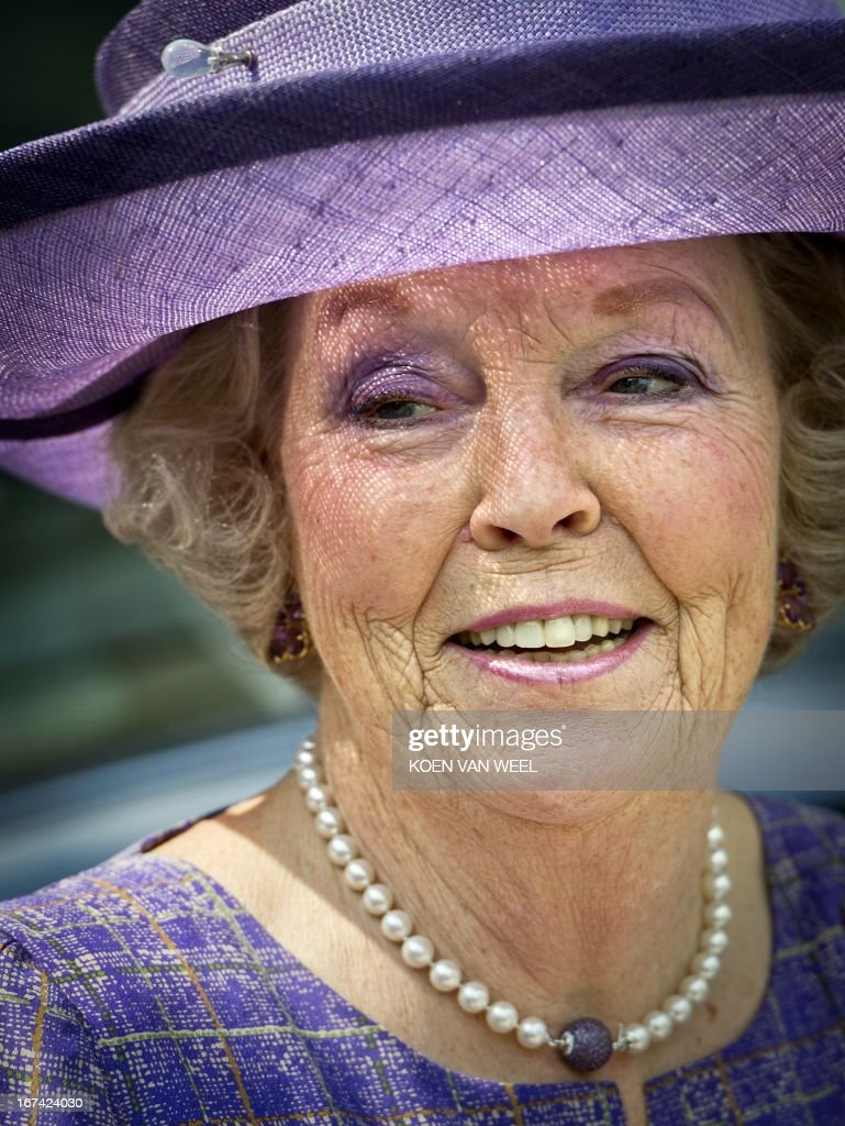 Netherland's Queen Beatrix visits the Willem Arntsz Huis or Altrecht in Utrecht, an agency for mental healthcare with various branches wich exists since 550 years, on May 20, 2011.
