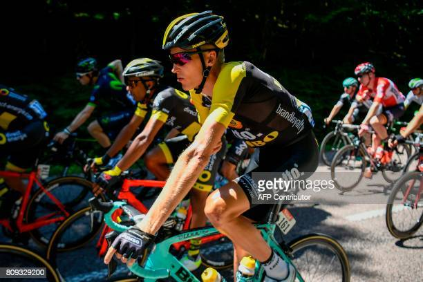 Netherlands' Robert Gesink rides during the 1605 km fifth stage of the 104th edition of the Tour de France cycling race on July 5 2017 between Vittel...