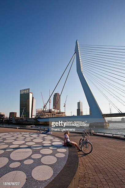 Netherlands, Rotterdam. People relaxing