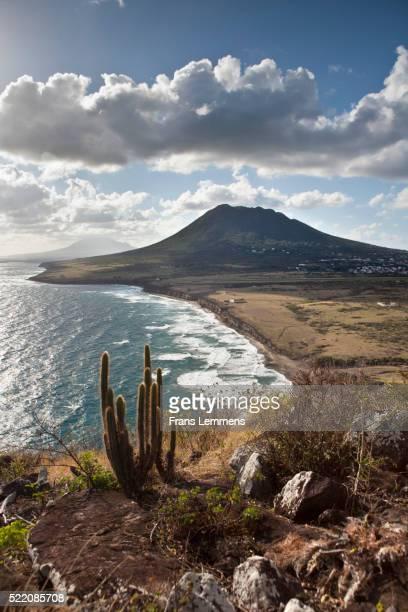 Netherlands, Sint Eustatius Island, Dutch Caribbean, Gilboa Hill