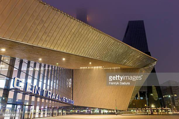 Netherlands, South Holland, Rotterdam, Rotterdam Central railway station