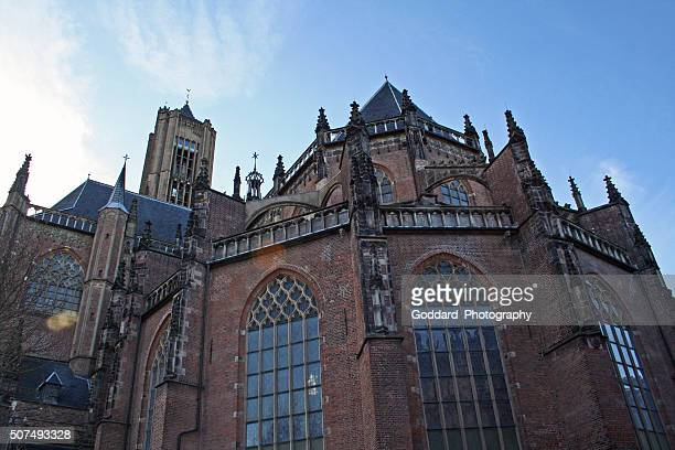 netherlands: st. eusebius church in arnhem - arnhem stockfoto's en -beelden