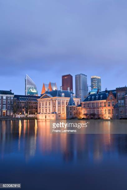netherlands, the hague, binnenhof, center of dutch politics - the hague stock pictures, royalty-free photos & images