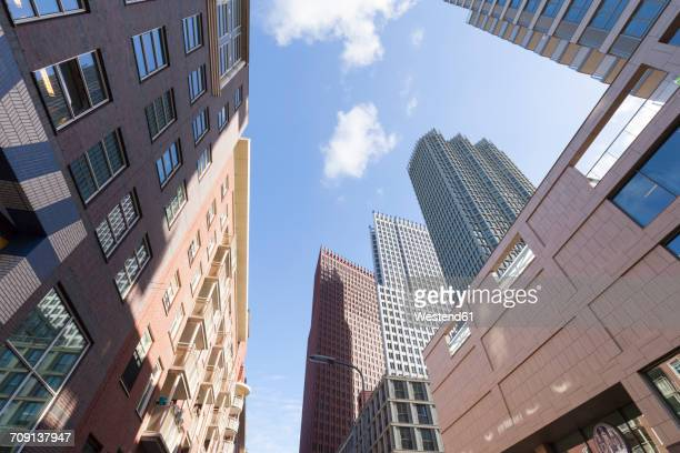 Netherlands, The Hague, office towers