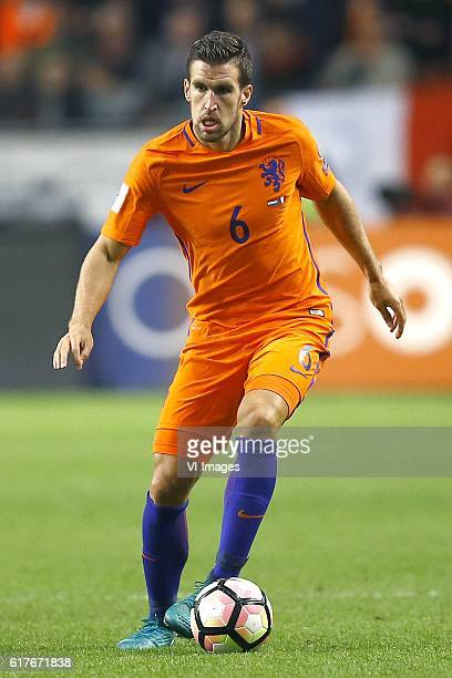 Netherlands v France FIFA World Cup group A 2016/2017 Kevin Strootman of Holland during the FIFA World Cup 2018 qualifying match between Netherlands...