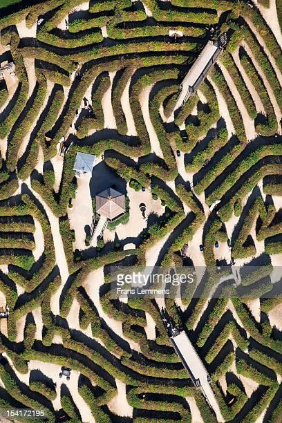 Netherlands, Vaals, Labyrinth