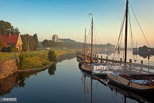 Netherlands, Veere, Harbour