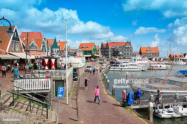 Netherlands, Volendam, Ijsselmeer, harbor