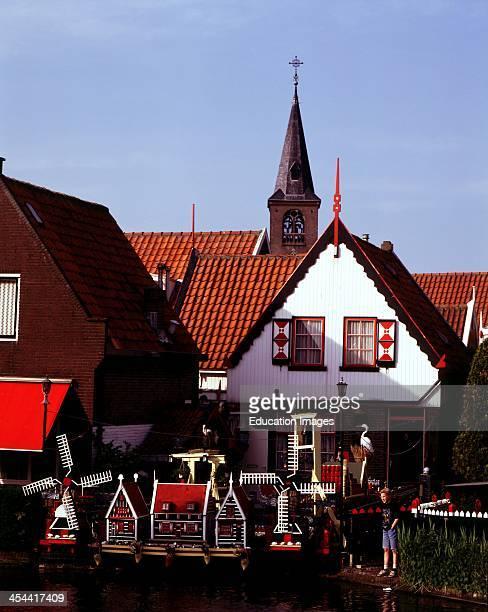 Netherlands Volendam Miniature Houses