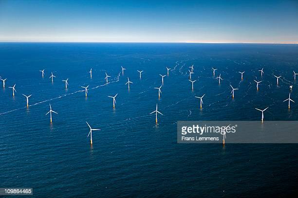 Netherlands, Wind Park in North Sea