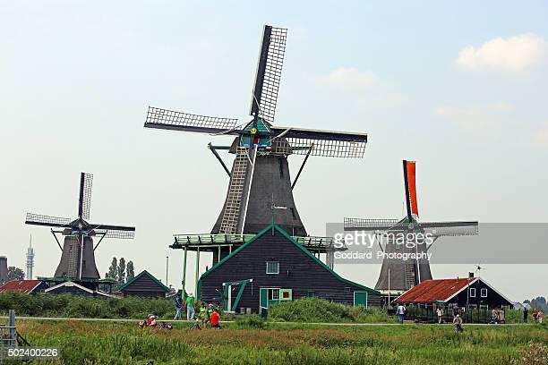 Netherlands: Windmills of Zaanse Schans