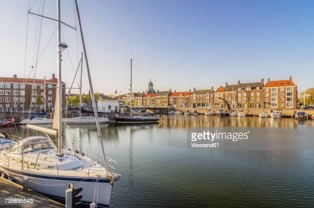 Netherlands, Zeeland, Middelburg, city harbour
