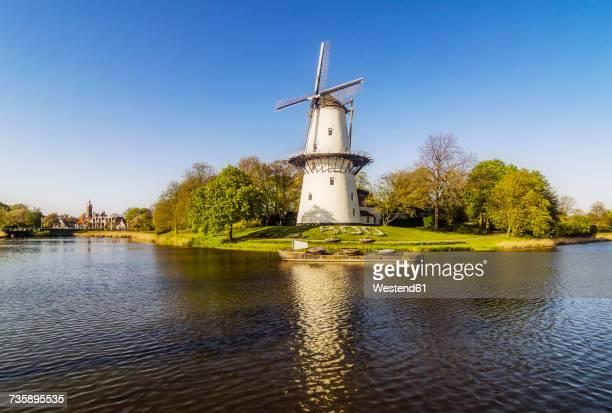Netherlands, Zeeland, Middelburg, wind mill 'De Hoop'