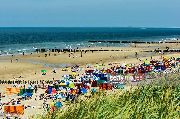 Netherlands, Zeeland, Walcheren, Domburg, View to beach