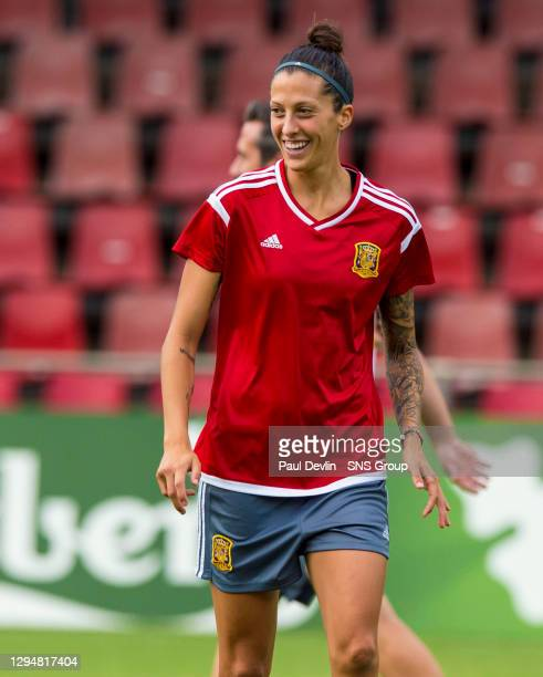 Spain's Jennifer Hermoso