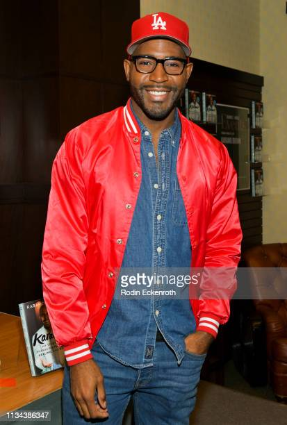 Netlfix's Queer Eye Karamo Brown celebrates his new book Karamo My Story at Barnes Noble at The Grove on March 07 2019 in Los Angeles California
