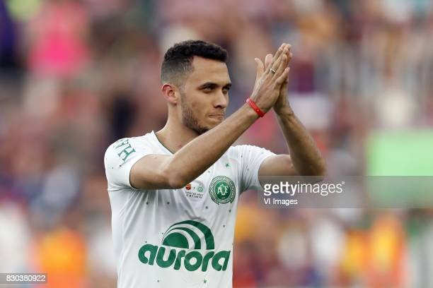 Neto of Associacao Chapecoense de Futebol during the Trofeu Joan Gamper match between FC Barcelona and Chapecoense on August 7, 2017 at the Camp Nou...