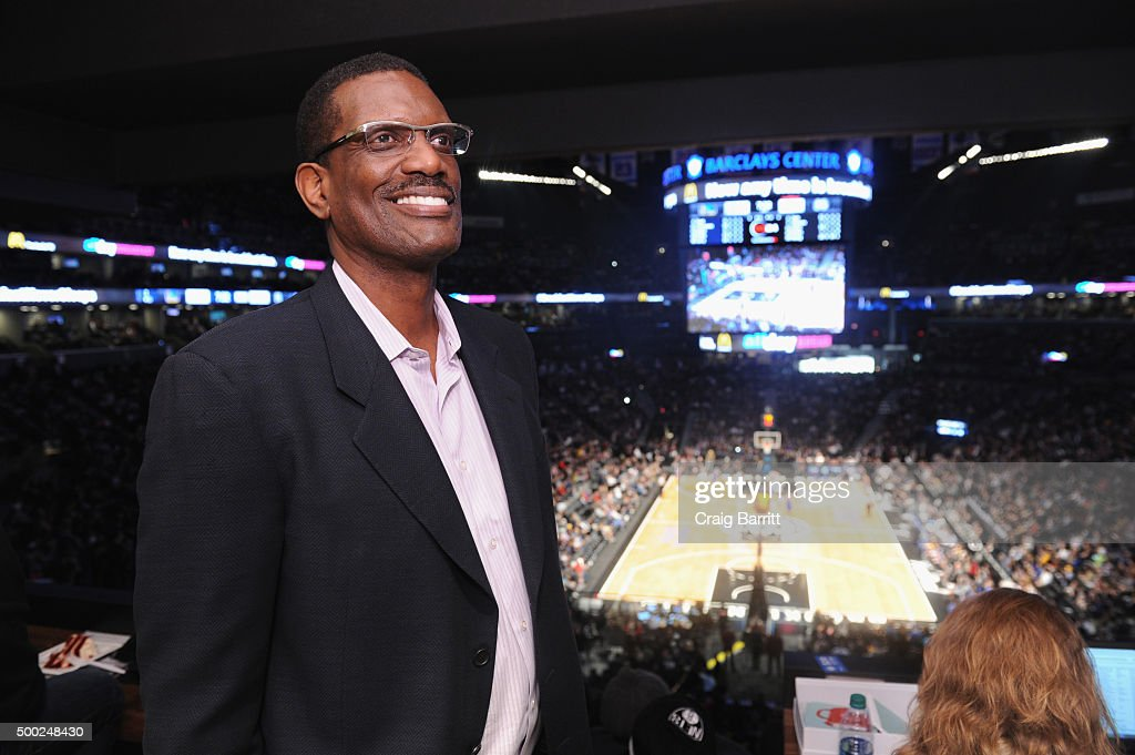 American Express Card Members Enjoy The Nets vs. Warriors Game From The Centurion Suite At Barclays Center