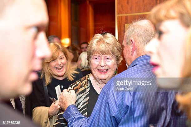Netta Blanchard attends Gregory de la Haba Terence Browne Present 'Hazel Made In Belfast' Featuring Irish Soprano Sarah Power at Weill Recital Hall...