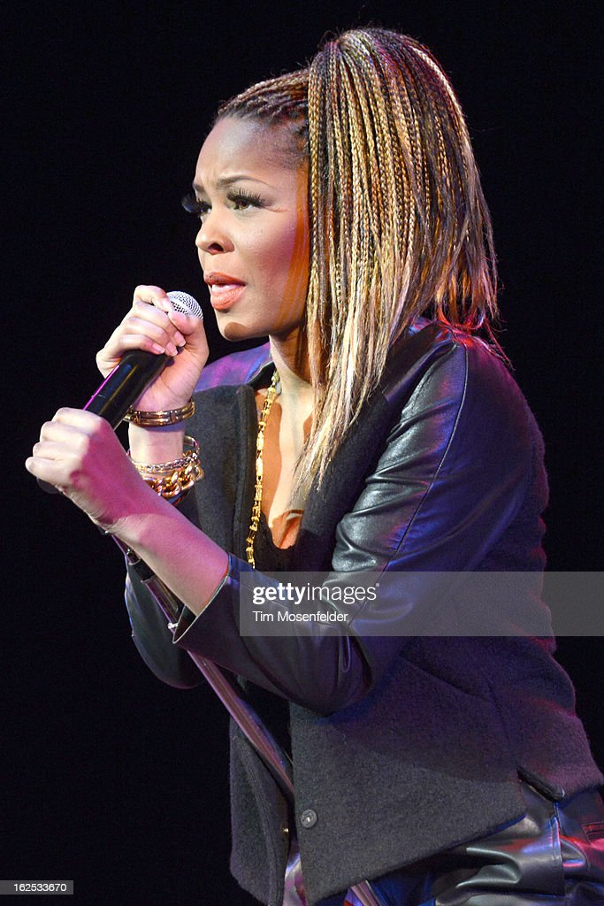 Netta Brielle performs at The Paramount Theatre on February 23, 2013 in Oakland, California.