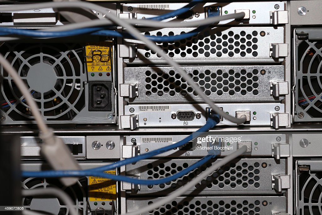 Network cables are plugged in a server room on November 10, 2014 in New York City. U.S. President Barack Obama called on the Federal Communications Commission to implement a strict policy of net neutrality and to oppose content providers in restricting bandwidth to customers.