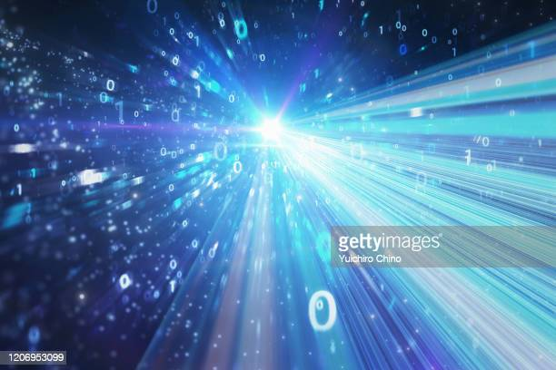 network communication speed - zoom in stock pictures, royalty-free photos & images