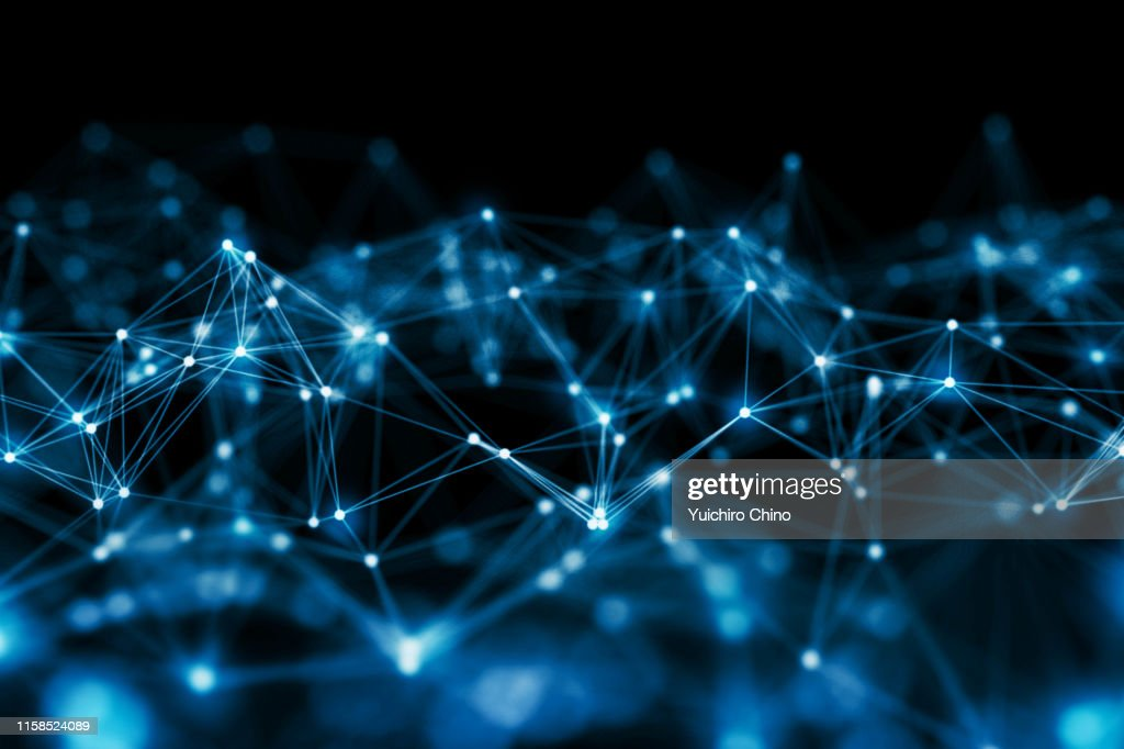 Network connection : Foto stock