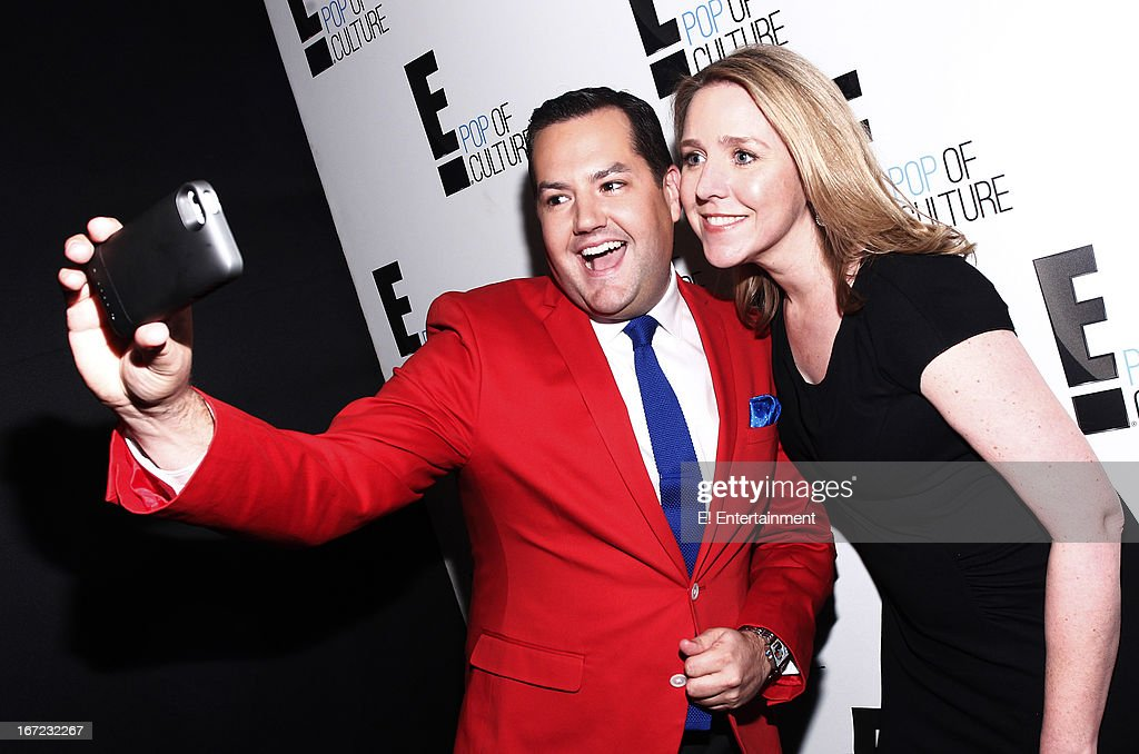 E! Network Events -- 'E! Entertainment 2013 Upfront at The Grand at Manhattan Center Studios' -- Pictured: (l-r) Ross Mathews, Suzanne Kolb, President, E! Entertainment --