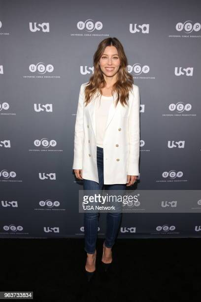 USA Network Events FYC The Sinner Event TV Academy Theater in Los Angeles California Pictured Jessica Biel