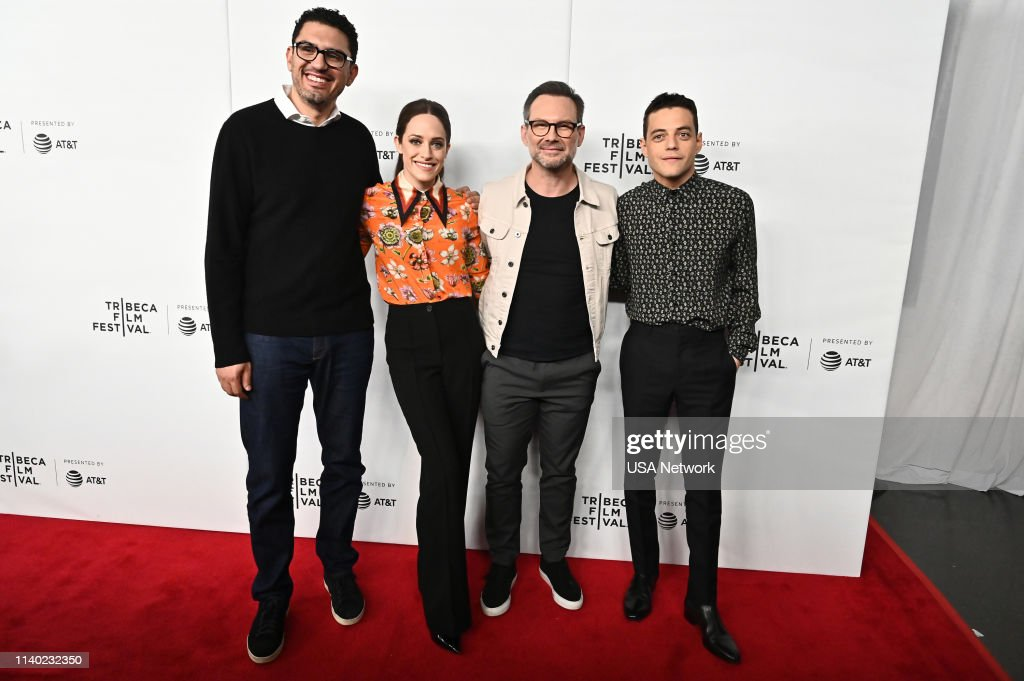 "NY: USA Network's ""Mr. Robot Tribeca Film Festival Red Carpet and Panel"""