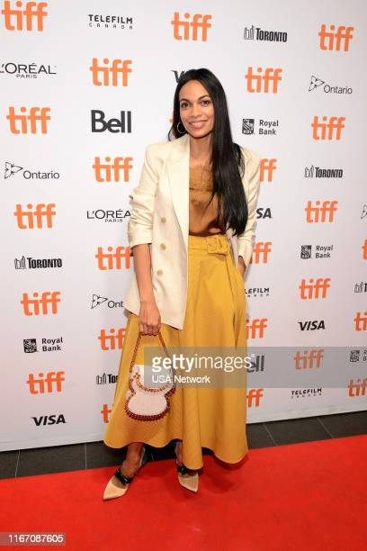 Network Events -- TIFF Briarpatch Red Carpet and Screening in Toronto, Canada -- Pictured: Rosario Dawson --