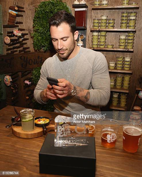 Network Hosts FirstEver SXSW SoutBites Quesoff With Food Porn Star Michael Chernow At FYI BiteClub at The Driskill Hotel on March 12 2016 in Austin...